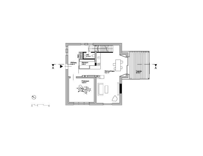 Haus K Grundriss EG